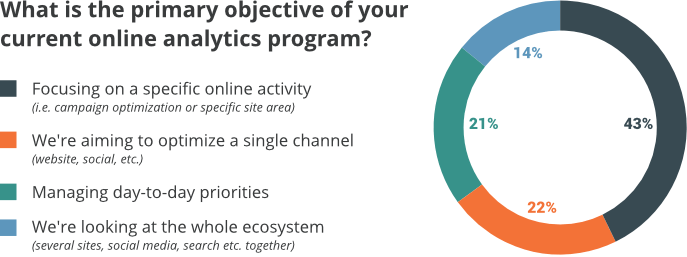 The goals executive have for analytics