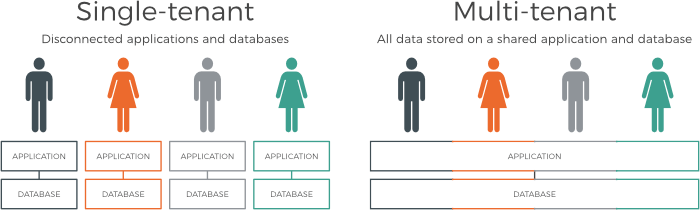 Single-tenant vs. multi-tenant environments in iPaaS