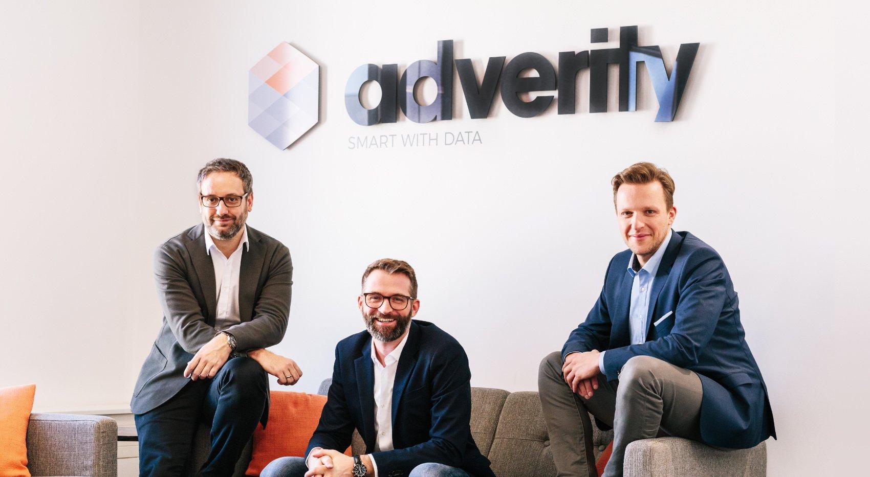 Adverity Co-Founders: Alexander Igelsböck, Martin Brunthaler and Andreas Glänzer